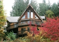 Lakefront Home on Shawnigan Lake near Victoria,Vancouver Island,Canada