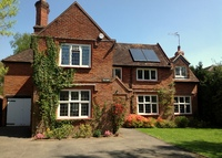A five bedroom detached family home in England's largest village