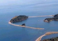 Your own private island and custom cottage (with driveable causeway) on the Bras d'Or Lake, Cape Breton, Nova Scotia