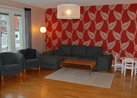 Lovely open apartment close to city of Stockholm and nature.