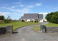 Beautiful family home with ocean views of Galway Bay & the Burren.
