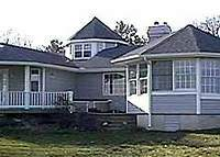 Chesapeake Bay Waterfront Home Rental/Exchange with lovely views.