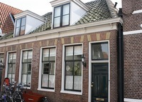 Traditional house in historical center of Edam (close to Amsterdam)
