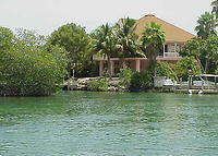3 Bedroom waterfront home in the Florida Keyes