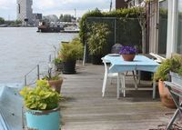 Great apartment in Amsterdam Docklands with terrace