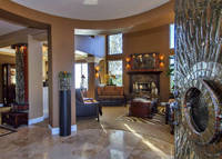 Beautiful home in San Diego County owned by an Interior Decorator.