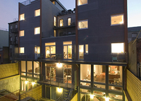 Award winning architecture, 2 bedroom modern condo in Carroll Gardens