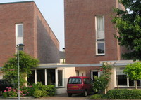 Comfortable modern house in a quiet village in the province Zeeland.