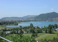 Single family house with wonderful views over Thun with the lake