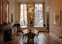 Large Amsterdam canal  apartment +garden. July is booked...