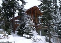 Luxury lake front chalet at Whistler B. C.