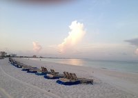 St Pete Beach, FLA - Luxury condo with ocean view on 5 miles of white sandy beach.   A beach lover or boater's paradise.