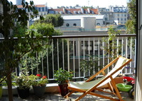 PARIS 5 Sunny, 4 bdr terrace, LUXEMBOURG, summer done open for later