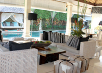 Marvelous Seminyak tropical garden home with full time staff.