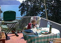 Charming seasight apt. with terrace in Sori, Genova, near Portofino