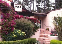 Pebble Beach California - Mediterranean style - close to the ocean, golf courses, Carmel, and San Francisco