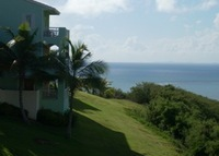 Las Casitas Caribbean Villa--300' High Overlooking the Sea!