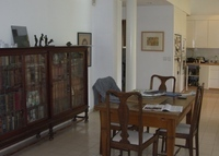 Beautiful single story 6 room house surrounded by  a private garden in central Jerusalem and a separate study in garden