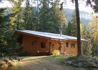 Secluded strawbale home on 10 acres