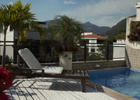 DeLuxe full floor Penthouse a few steps from Barra beach in Rio