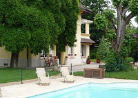 Grande Villa, piscine, proche Lyon -Large villa with pool south France
