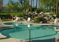 Palm Springs Perfect!  2BD,2Bath LL, on the golf course/pools/Tennis