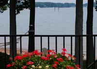Lake Norman Vacation Home, Sandy Beach and Dock
