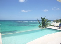 Caribbean Villa at the Beach with gorgeous view+locaton 1 in a Million