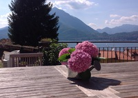 LAKE COMO - VARENNA : independent house , 3 bedroom + private garden