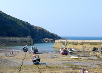 A piece of medieval coastal England here in Port Isaac