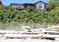 Stunning beach front home in Victoria, BC