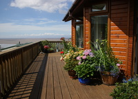 Lovely holiday home in Somerset with views over the Bristol Channel.