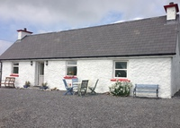 A Little Irish Cottage in Donegal Ireland on the Wild Atlantic Way