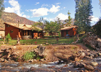 Lovely riverfront cottage midway between Cusco and Machu Picchu, Peru