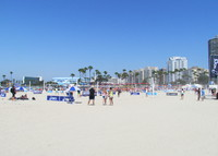 Walk to the Beach -  Long Beach/Los Angeles