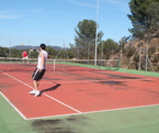 Improve the level of English and tennis