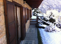 Comfortable flat near Courmayeur looking at the Mont Blanc