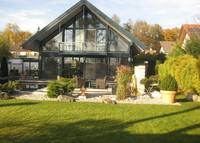 Luxury Home / Wellness Oasis near MUNICH  (Jaccuzzi + Pool + Gym)