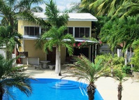 Costa Rica Beach House with private pool and staff