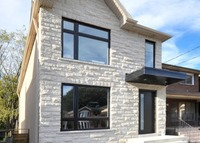 Toronto Danforth: Modern, brand new family home in central location
