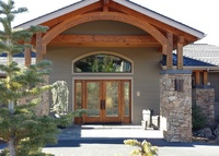 Luxury Central Oregon Lodge- white mtn views, rippling creek, resort