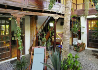 rustic canarian house in the green north of tenerife near the Atlantic