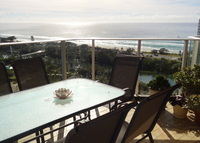 A 2 bedroom, 2 bathroom apartment with stunning views of the beach