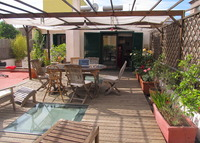 2-floors house with outstanding terrace - centre of Rome (Pigneto),