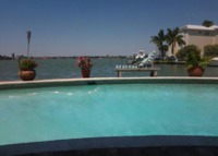 Waterfront Pool House minutes from the BEST beaches in the US!!!