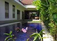 a charming colonial villa in BALI.