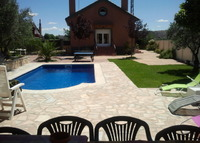 House with swiming pool near Madrid