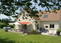 Comfortable family home in Normandy, 1h30 from Paris. Great for kids.