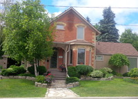 Beautiful 132 year old home in Orangeville, one hour north of Toronto.
