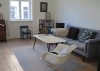 Copenhagen - lovely 2 bedroom flat, centrally located, attractive area